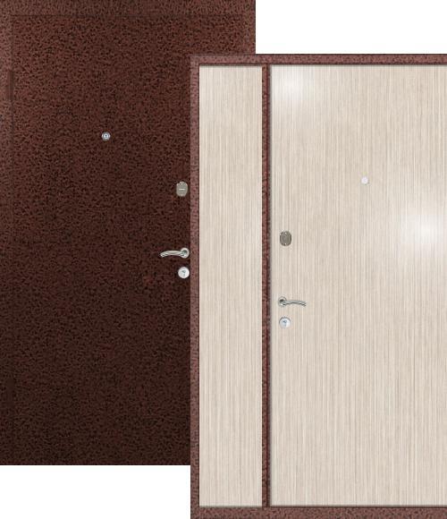 двери входные двустворчатые дуб