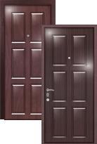 Стальная дверь Легран Волкодав (2 панели) Бавария