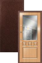 Входная дверь Легран МДФ с зеркалом Греция