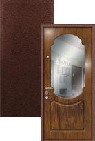 Входная дверь Легран МДФ с зеркалом Классика