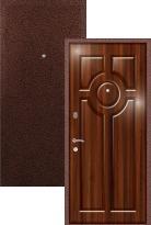 Стальная дверь Легран МДФ+Шпон Окно