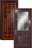 дверь Легран Массив + МДФ с зеркалом Греция