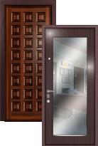 дверь Легран Массив + МДФ с зеркалом Рим