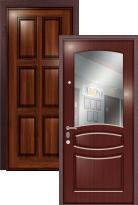 дверь Легран Массив + МДФ с зеркалом Валенсия