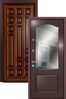дверь Легран Массив + МДФ с зеркалом Модерн