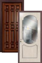 дверь Легран Массив + МДФ с зеркалом Классика