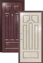 Стальная дверь Легран Волкодав (2 панели) Арка
