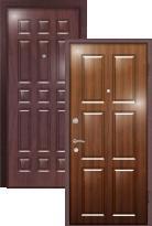 Стальная дверь Легран Волкодав с внутренним открыванием Бавария