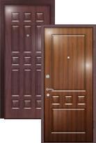 Стальная дверь Легран Волкодав с внутренним открыванием Греция