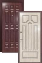 Стальная дверь Легран Волкодав с внутренним открыванием Арка