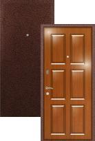 Стальная дверь Легран МДФ Бавария